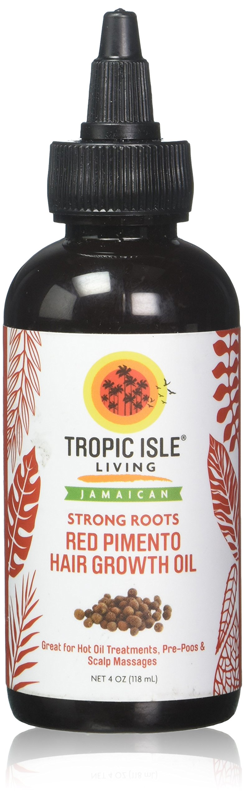 Tropic Isle Living- Strong Roots Red Pimento Hair Growth Oil-4oz