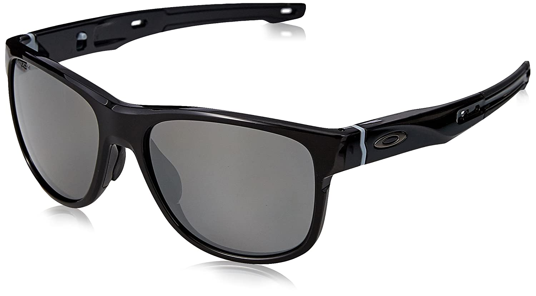 Oakley Crossrange R, Gafas de Sol para Hombre, Polished Black, 57