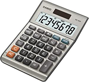 Casio MS-80B Standard Function Desktop Calculator,Black