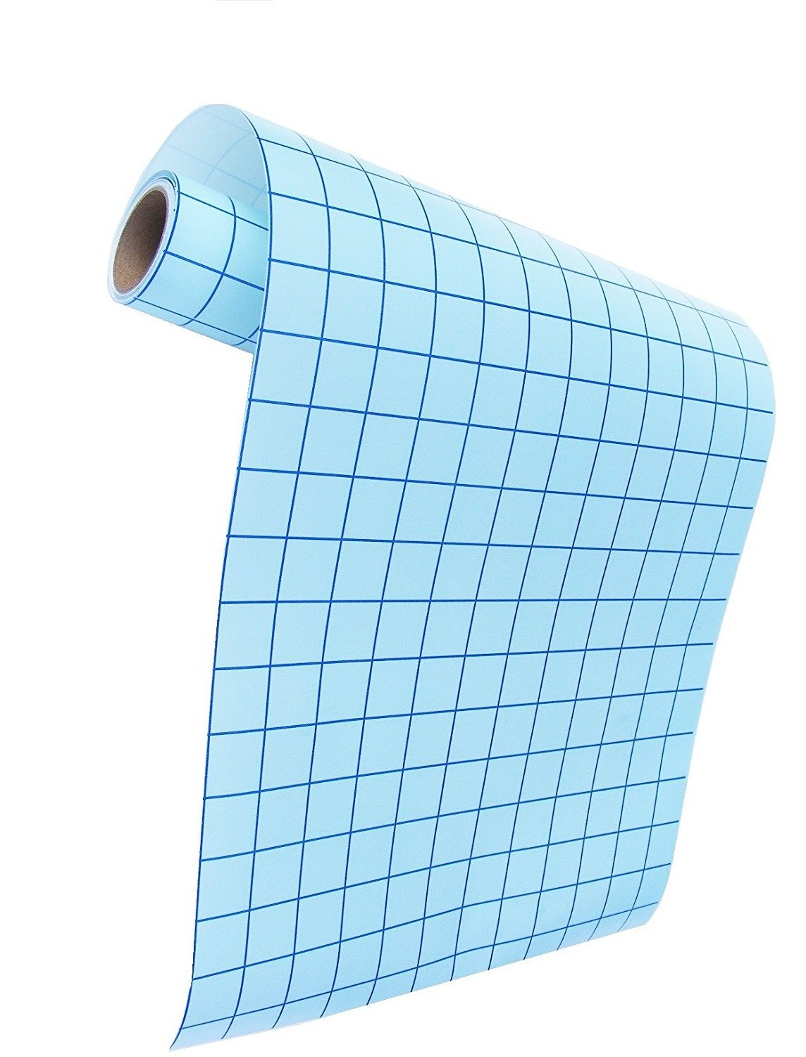 Decals Window JH Best Crafts Transfer Paper for Vinyl 12 Inch x 25 Feet Roll Use for Cameo Blue Grids for Good Alignment Self Adhesive Vinyl Sign Sticker Silhouette Transfer Paper Cricut