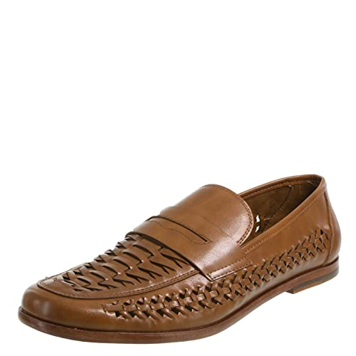 a39727f64c01d Dexter Cognac Men s Adrian Huarache Loafer 9 Regular