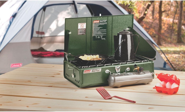 Coleman R/échaud de camping /à double combustible