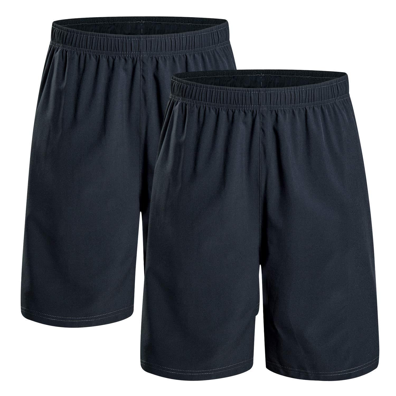 Asciugatura Rapida Estivi Pantaloni Corti Traspirante da Corsa Allenamento con Tasca per La Palestra Atletica Tennis Jogging Sports CAMEL CROWN Pantaloncini Sportivi da Uomo
