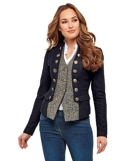 Joe Browns Womens Military Style Jacket Waist Coat  Amazon.co.uk  Clothing a05257a15e