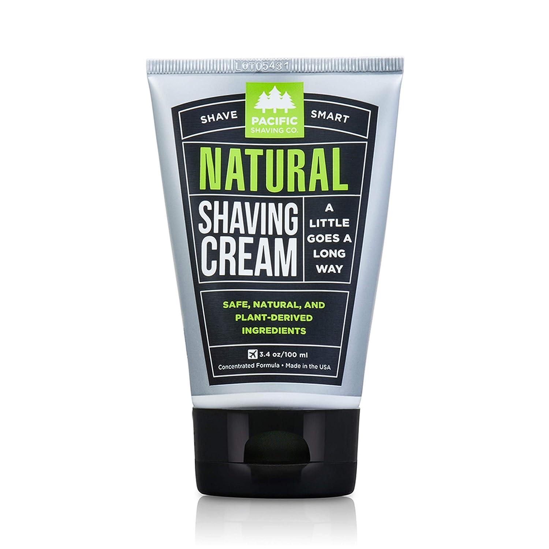 Pacific Shaving Company Natural Shaving Cream, 3.4 Ounce SC
