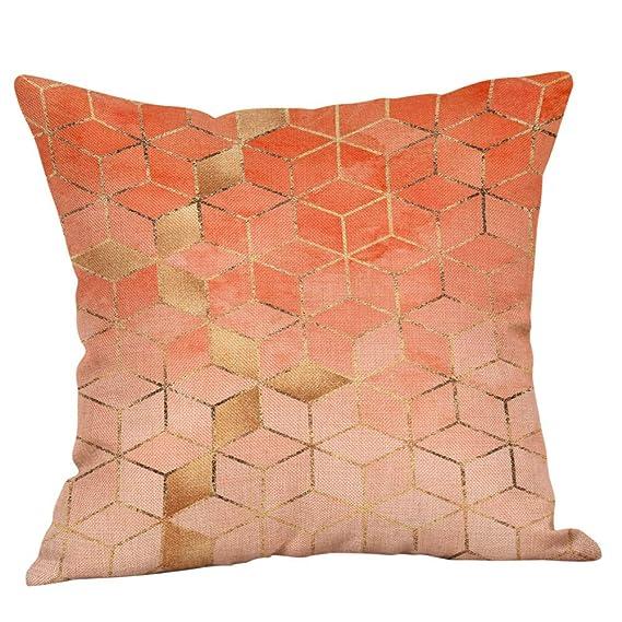 ... Fundas de Almohadas geométricas Impresas geométricas del cojín del Lino del algodón del sofá Decorativas para el hogar: Amazon.es: Ropa y accesorios