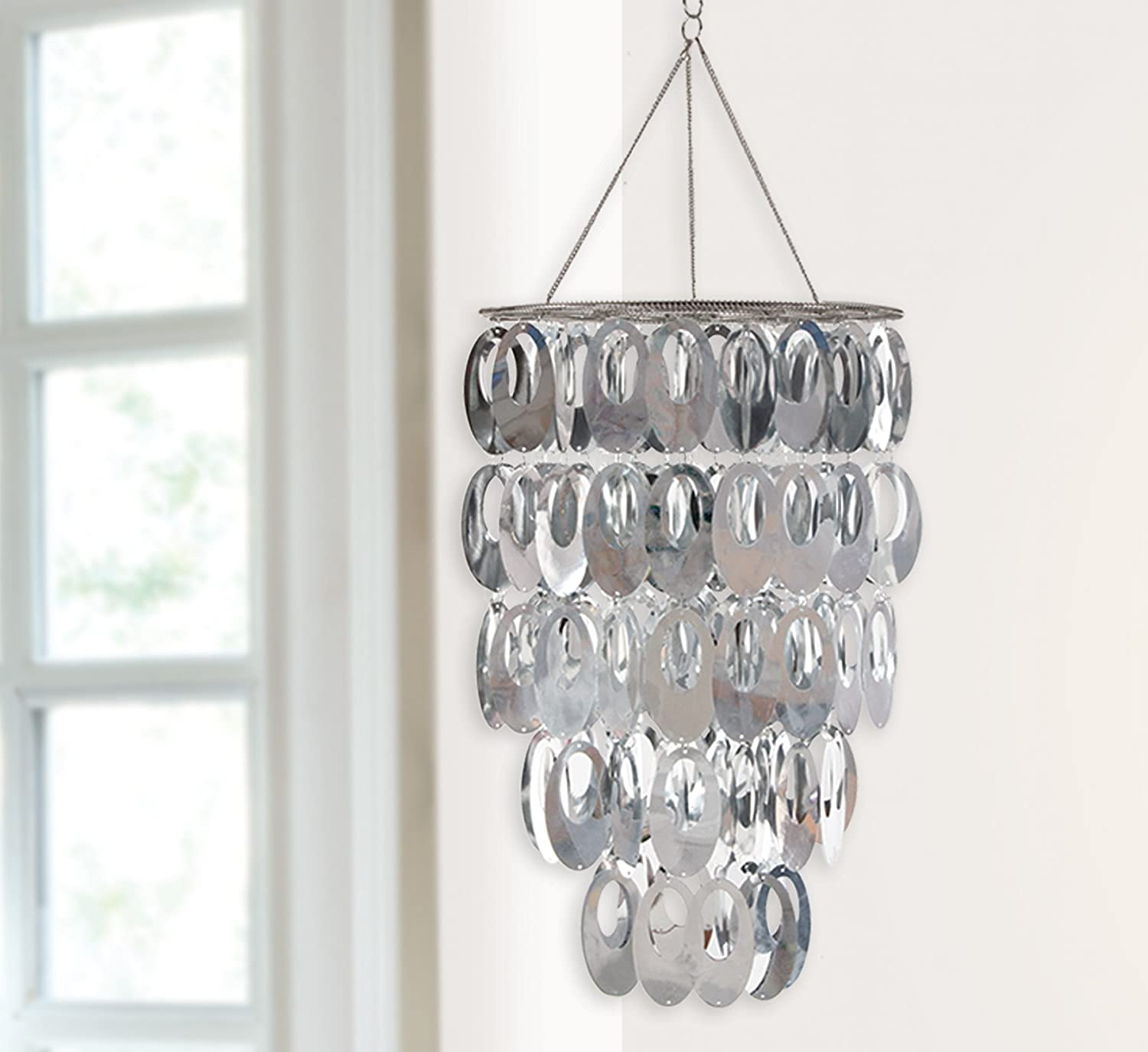 Amazon Wall Pops WPC Ready to Hang Bling Chandelier