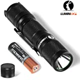 Lumintop Max 550 Lumens Tool Aa Cree Led Flashlight 3 Modes 2 Ways of Operation with One Hand Pocket Size Edc Mini Flashlight Clip Magnetic/Click Tail Torch with AA Battery