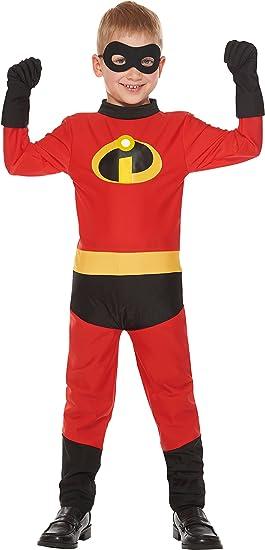 Disney Pixar Los Increibles Dash cabritos del traje unisex 100cm ...