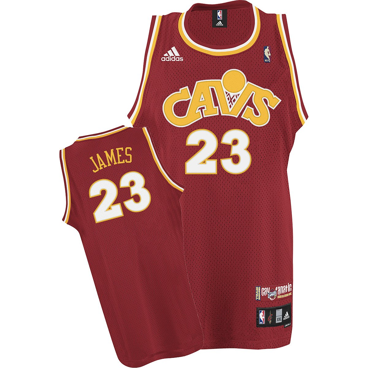 low priced 7f597 20f52 Amazon.com : adidas Cleveland Cavaliers #23 LeBron James ...