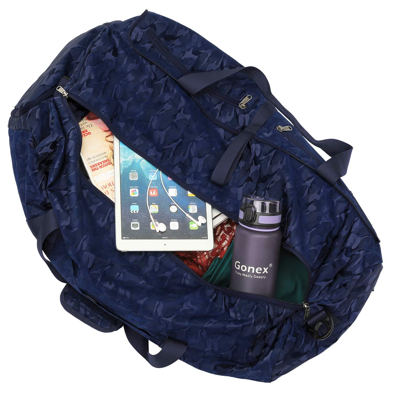 5325823d5e Gonex 80L Packable Travel Duffle Bag