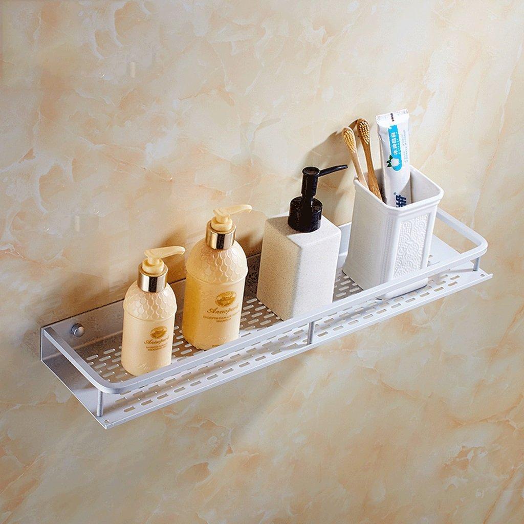 YXN Space Aluminum Bathroom Shelf Single-layer Bathroom Wall Hanging Metal Pendant Storage Rack Combination Bathroom Rack (Size : 30cm)