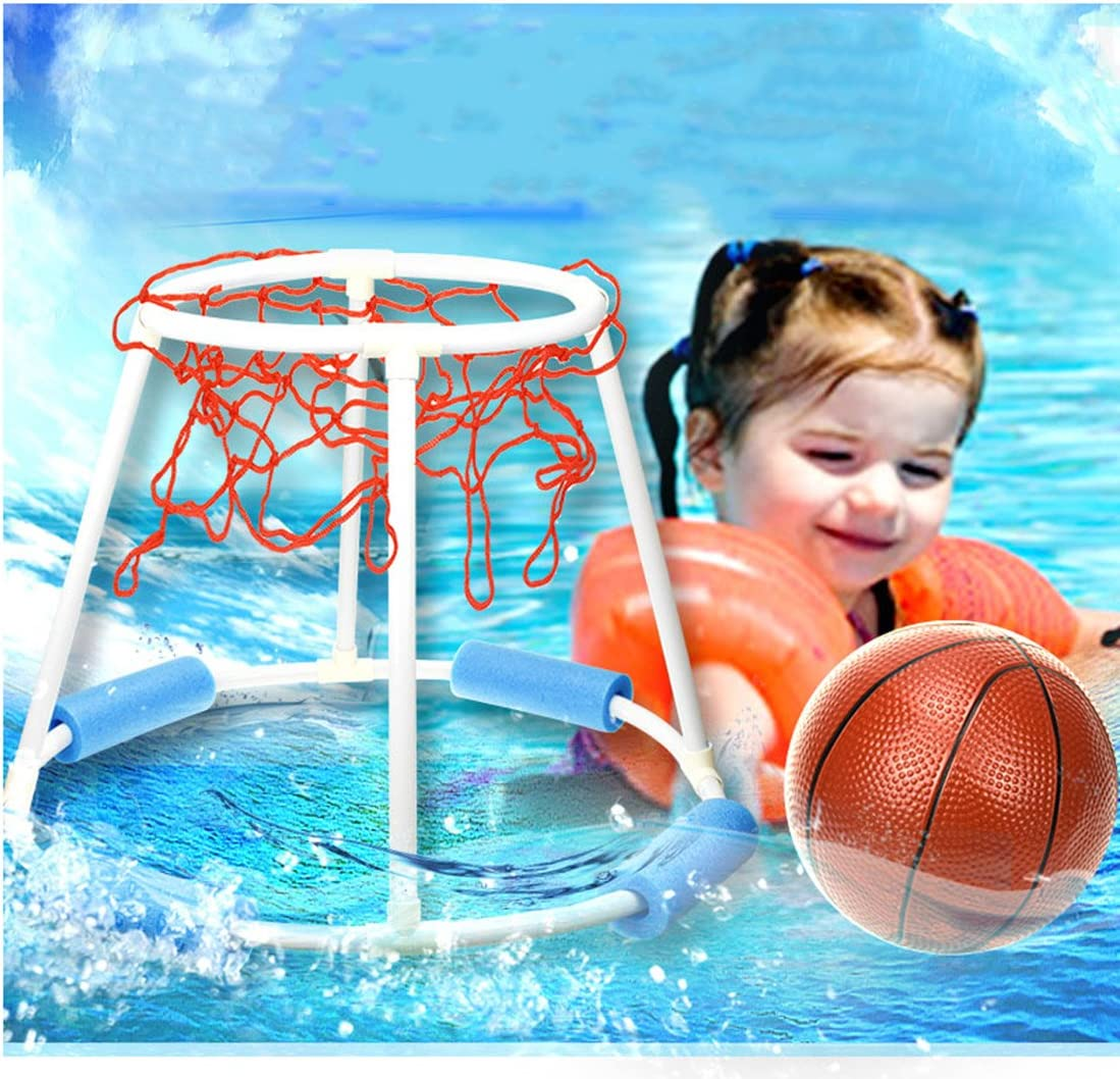 Tosbess Juego Canasta Baloncesto Hinchable Flotante Baloncesto ...