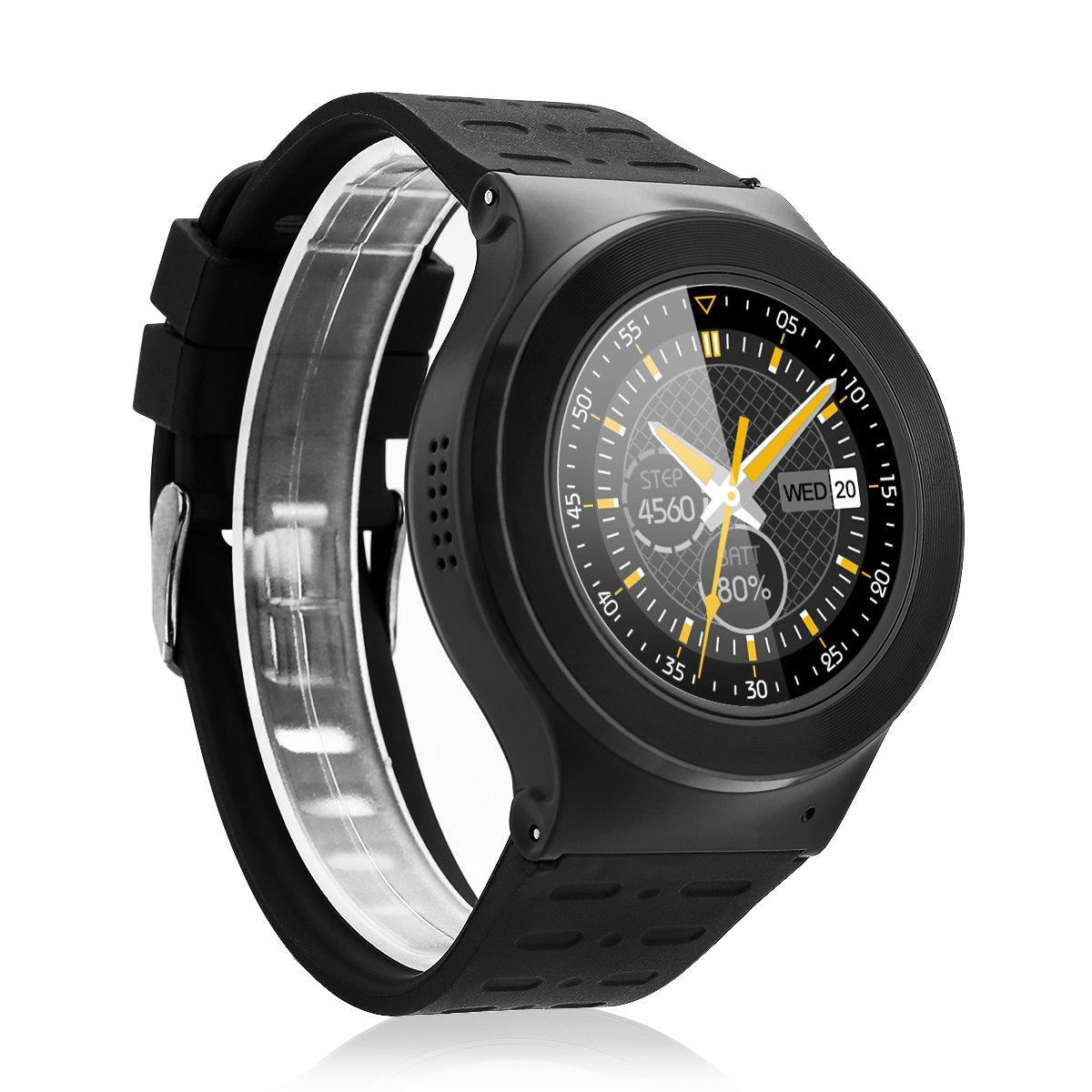 Diggro S99 - Smartwatch Pulsera Inteligente para Móvil Android (MTK6580, Android 5.1, Soporte Tarjeta SIM de Teléfono, 3G, Wifi, Bluetooth, Fitness ...