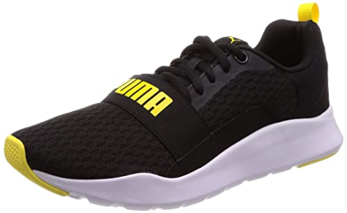 Puma Wired Negro Amarillo 366970 05
