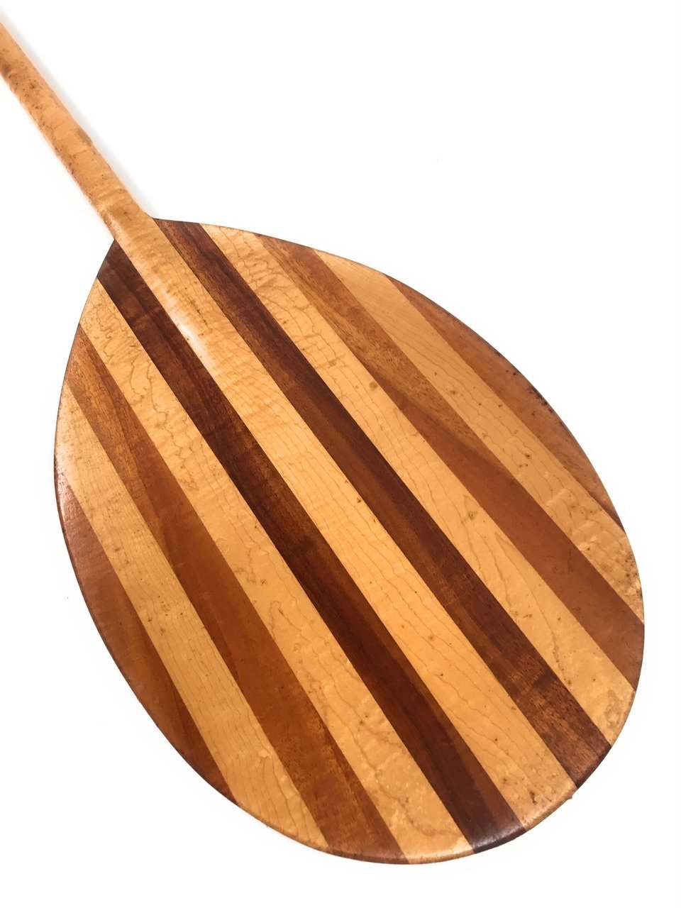 Koa Paddle 60'' w/ Maple Inlays - Made in Hawaii - | #KOAM013