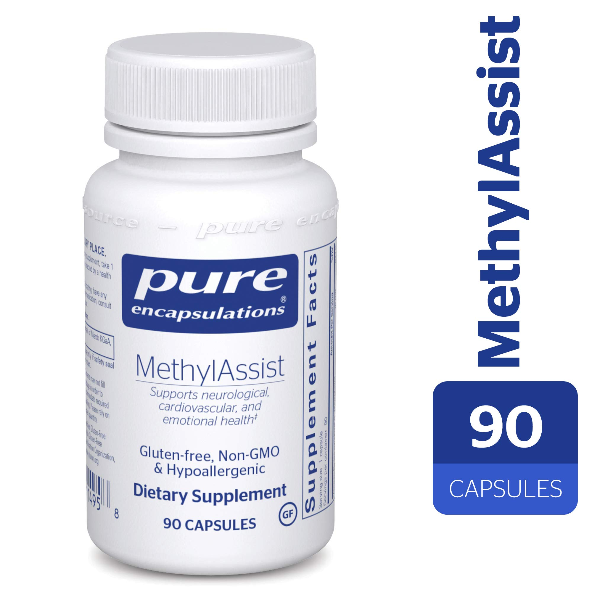 Pure Encapsulations - MethylAssist - Hypoallergenic Supplement with B Vitamins to Support Cardiovascular, Neural and Emotional Health* - 90 Capsules