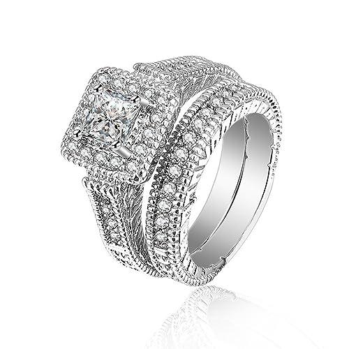 649d20b76eba Pretty ver circonita pareja anillos cupronickel dedo anillos jpg 500x500  Anillos ver