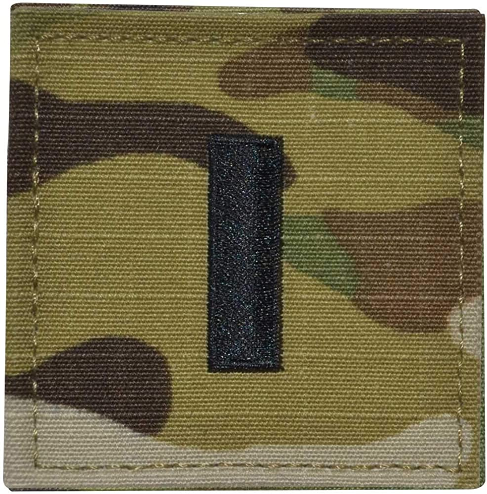 Air Force First Lt Rank 1LT OCP//Scorpion with Hook and Loop