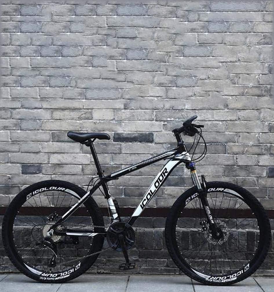 QZ Soft Tail Plegable Bicicleta de montaña, Bicicletas Marco Doble Freno de Disco de Acero de Alto Carbono/Off-Road Playa de Motos de Nieve de Bicicletas 26 Pulgadas, Llantas de 24 velocidades: Amazon.es:
