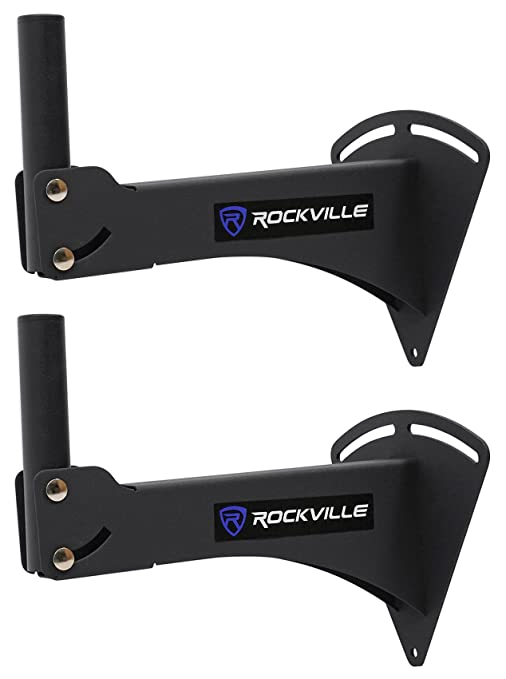 0347c0bf953 Amazon.com: Rockville RPW20 Pair Adjustable Wall Mount Brackets for PA  Speaker Installations: Musical Instruments