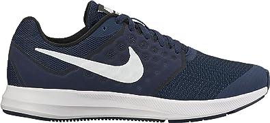 Nike Herren Downshifter 8 Laufschuhe, Blau (Midnight Navy/White-Dark Obsid 400), 38.5 EU