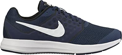 quality design 04530 8330a Nike Downshifter 7 (GS), Chaussures de Running Homme, Bleu (Midnight Navy