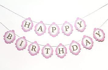 Amazon.com: Once Upon a tiempo pancarta para cumpleaños | De ...