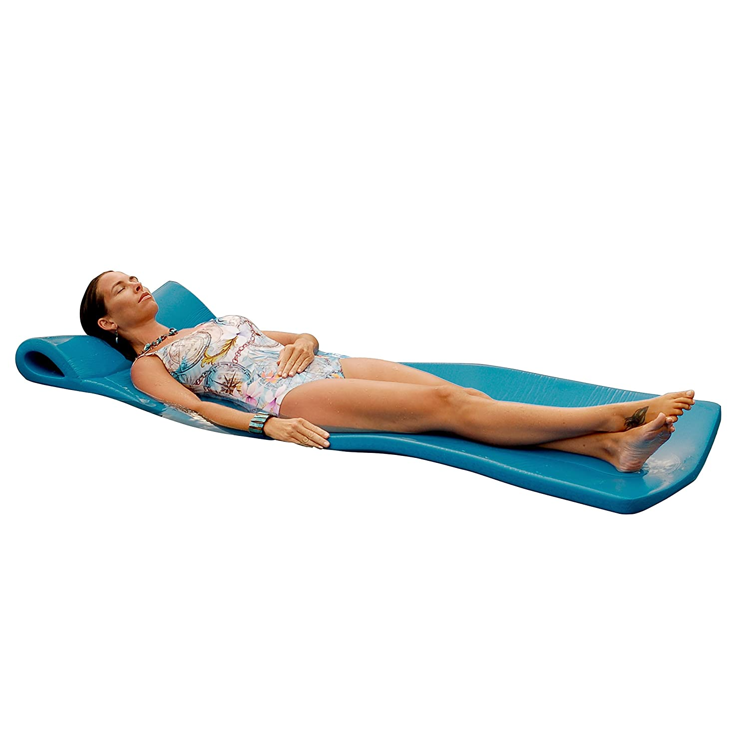 Sunray pool float swimming raft foam texas recreation for Swimming pool loungers
