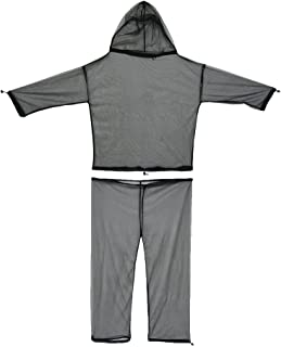 Ultimate Survival Technologies No-See-Um Suit S/M Bug Jacket & Pants Combo Hood 20-02260