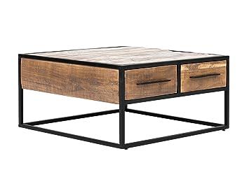 Massivum Oklahoma Couchtisch 80x80 Akazie Hell Holz Natur 80 X 80