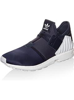 bbf590abe adidas Originals ZX Flux Plus Sneaker Black AQ5398  Amazon.co.uk ...