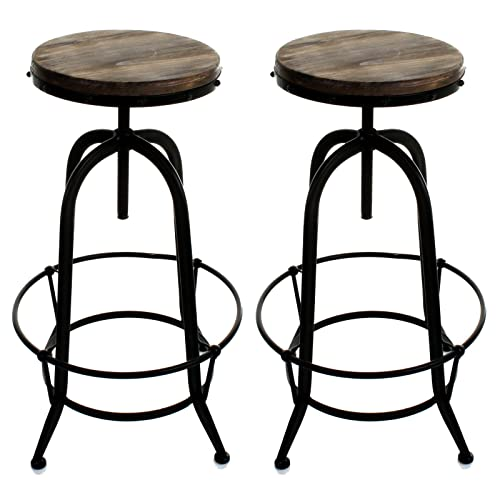Wooden Stools: Amazon.co.uk