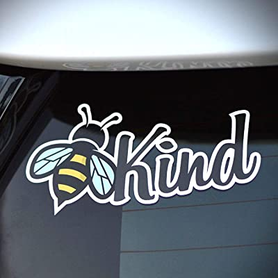 Byzee Bee Kind Sticker, Cute Vinyl Car or Laptop be Kind Decal, Quality Graphic: Clothing