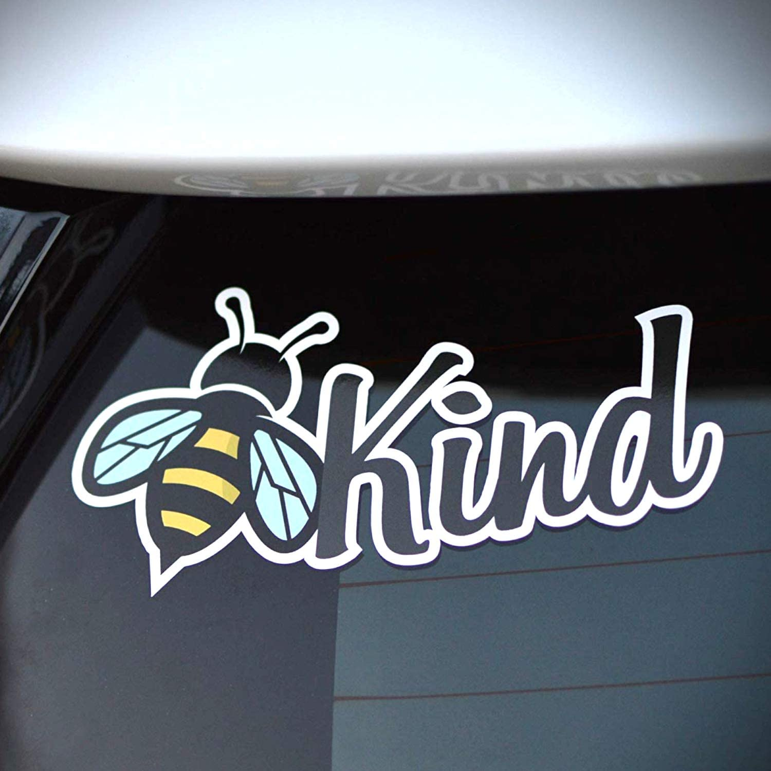 Byzee Bee Kind Sticker, Cute Vinyl Car or Laptop be Kind Decal, Quality Graphic