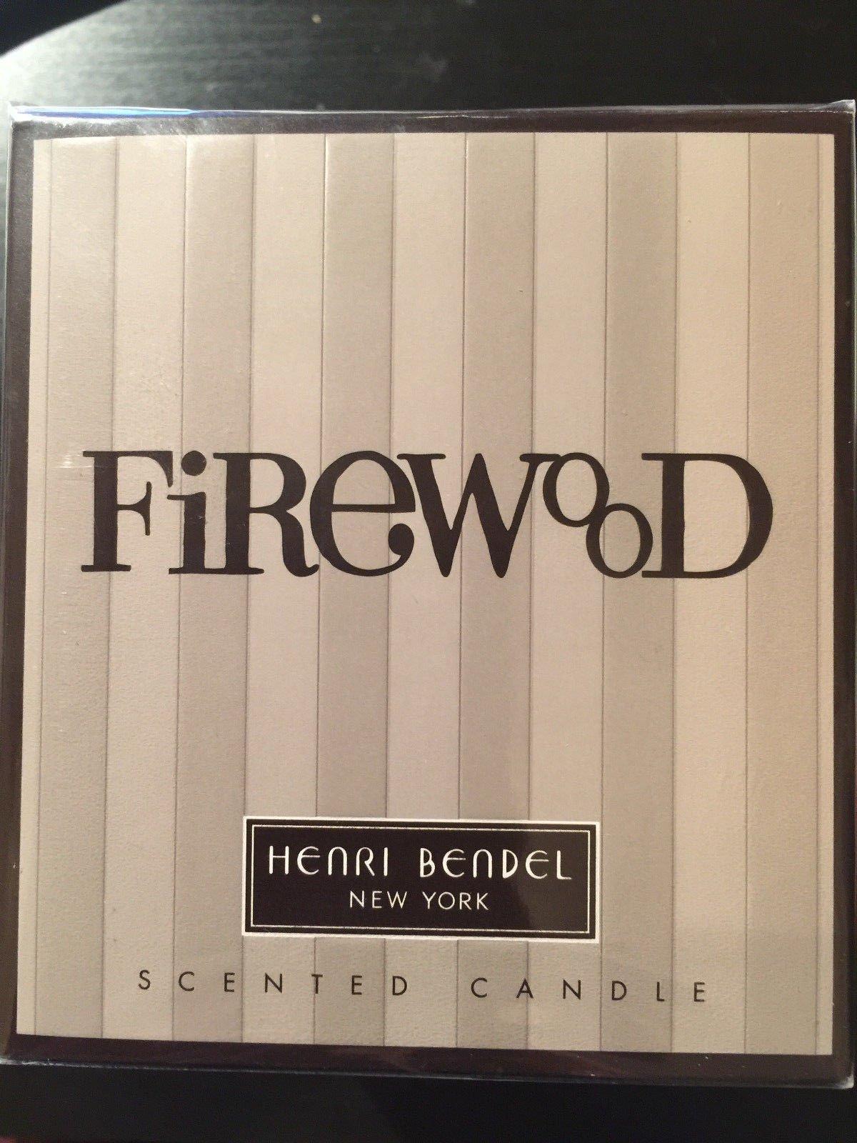 Henri Bendel Firewood Scented Glass Jar Candle 9.4 oz