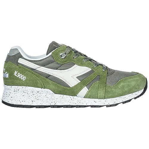 Diadora Zapatillas Deportivas Hombre Gargoyle/Loden Green 42 EU: Amazon.es: Zapatos y complementos