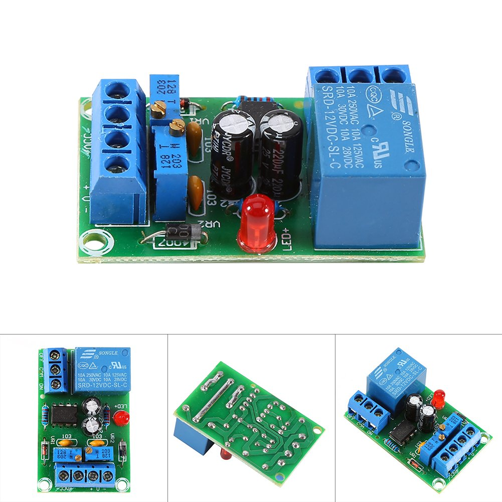Buy Walfront 12v Battery Charging Controller Module Protection Board 6v Or Lead Acid Charger Using Lm317 Automatic Stop Online At Low Prices In India