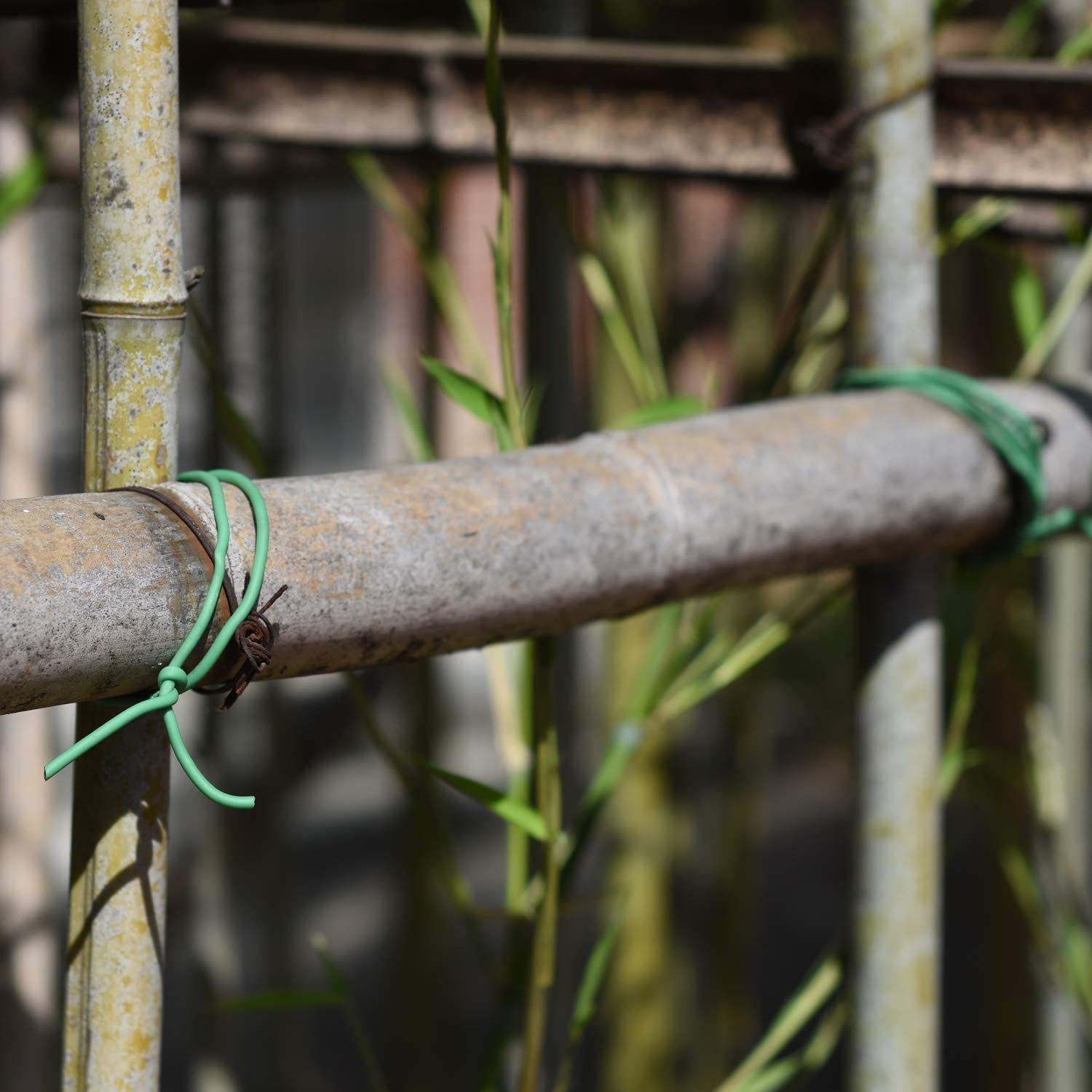16.4 feet// 5 Meters Green Soft Twist Tie Plant Wire TPR Garden Supply for Tomatoes Roses Vines Home Support