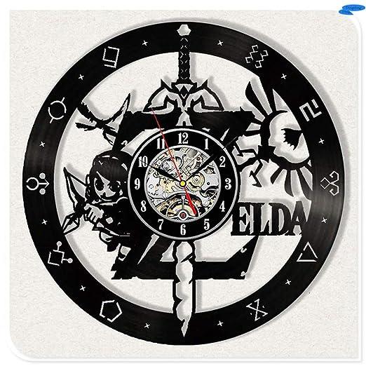 Decoración para el hogar Living Legend of Zelda Vinilo negro ...