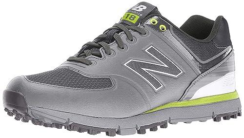New Balance Mens Nbg518 Golf Shoes Grey