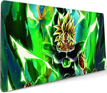 Goku Dragon Ball XXL Gaming Computer Mousepad 35.43 X 15.75 X 0.12inch Extended Mouse Pad