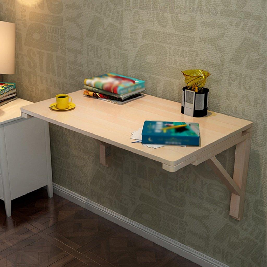 壁掛けコンピュータデスク壁折りたたみテーブルソリッドウッド壁掛け折り畳みダイニングテーブルスタディテーブル ( サイズ さいず : 80cm*60cm ) B07BT2BXB880cm*60cm