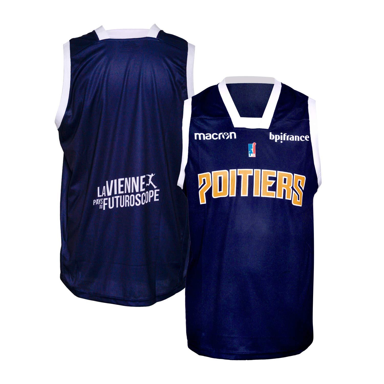 Poitiers Baloncesto 86 - Camiseta Oficial para Exteriores 2018 ...
