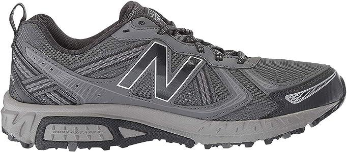 New Balance Mt410v5, amortiguación, Color Negro, Color Gris, Talla 41.5 EU: Amazon.es: Zapatos y complementos
