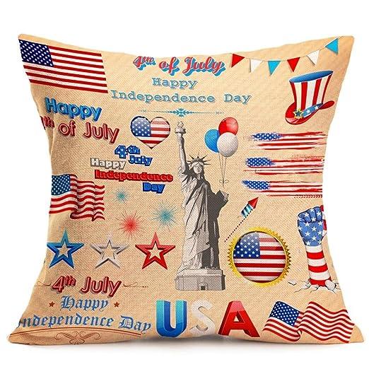 vibola la bandera americana manta fundas de almohada de ...