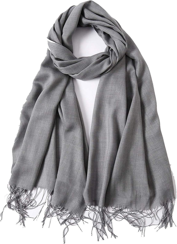 Bufanda de invierno Mujer Cachemira sólida como bufandas Chales de señora Abrigos Manta de pashmina femenina Estolas