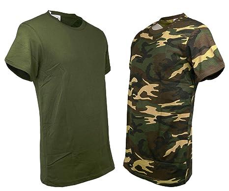 MilitareT Maglietta verde Petersabitidalavoro UomoCotone Shirt O v8nmwN0O