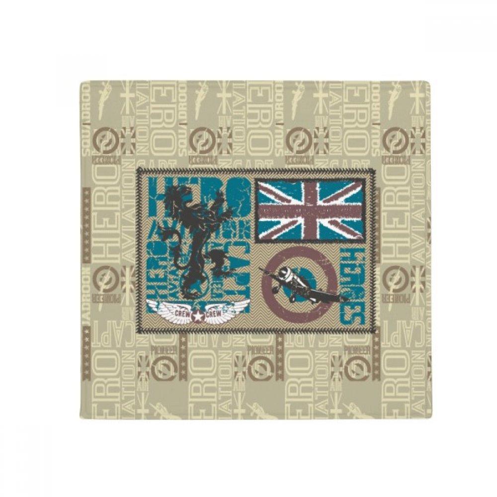 60X60cm DIYthinker Hero Capt Lion Flag Anti-Slip Floor Pet Mat Square Bathroom Living Room Kitchen Door 60 50Cm Gift