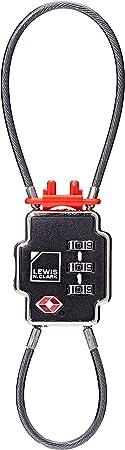 Lewis N Clark TSA-Friendly Luggage Lock